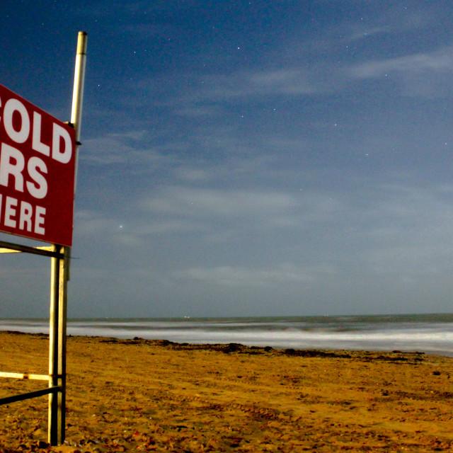 """Beach Beers"" stock image"