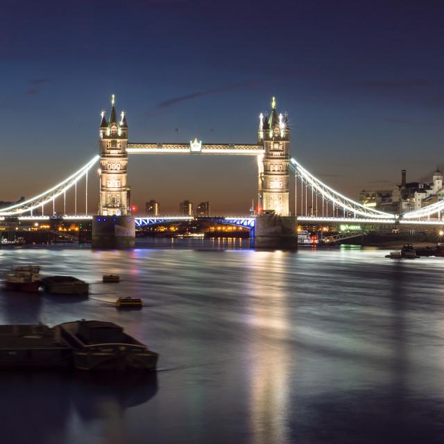 """""""London At Dawn"""" stock image"""