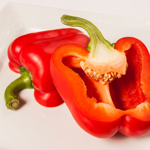 """Red Pepper"" stock image"
