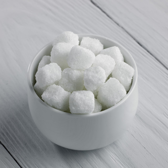 """Bowl of rock sugar"" stock image"