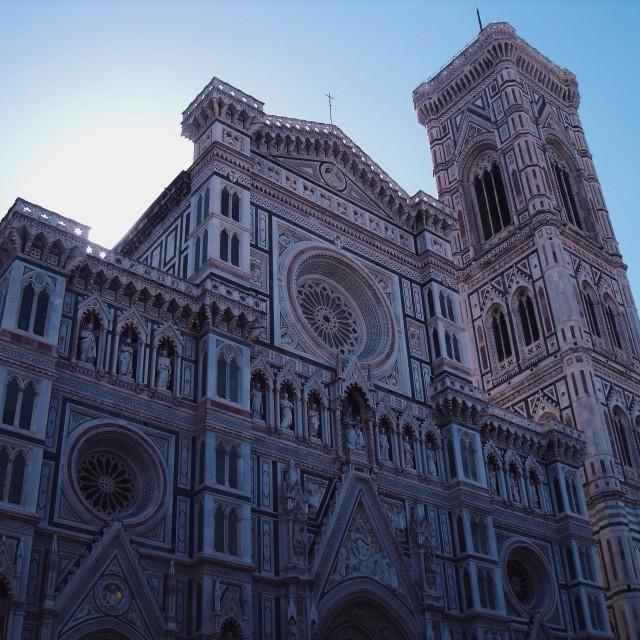 """""""Cathedral of Santa Maria del Fiore"""" stock image"""