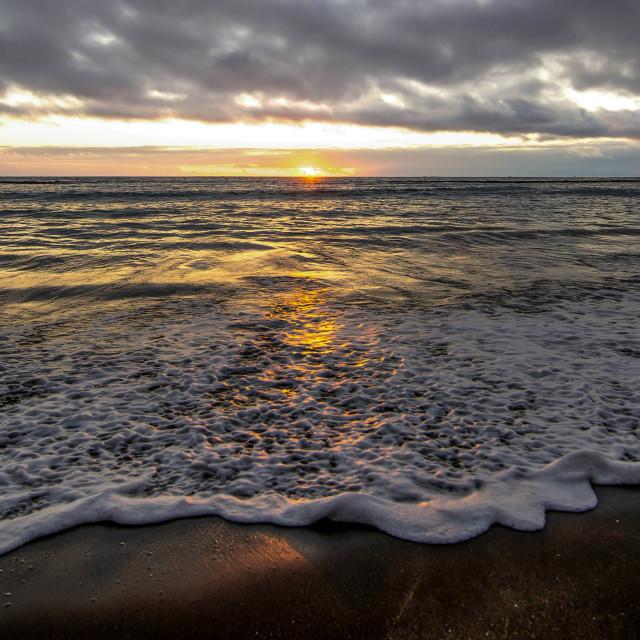 """""""Rushing Waves"""" stock image"""