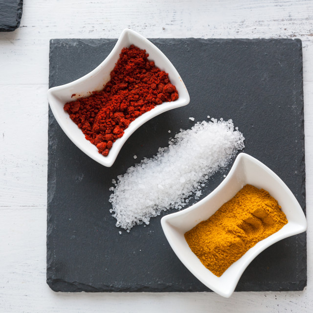 """Moroccan spices"" stock image"