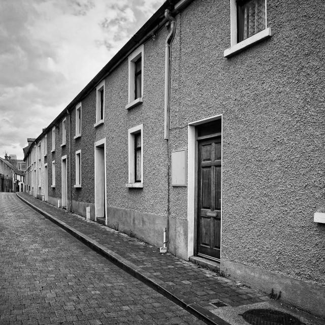 """""""Abbey Lane"""" stock image"""