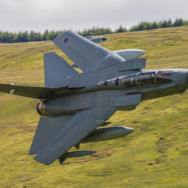 """Tornado GR4"" stock image"