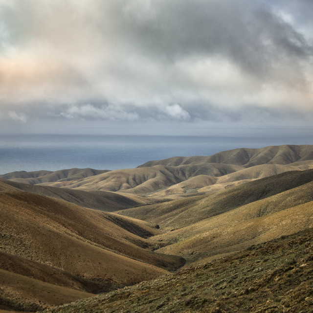 """Fuerteventura landscape"" stock image"