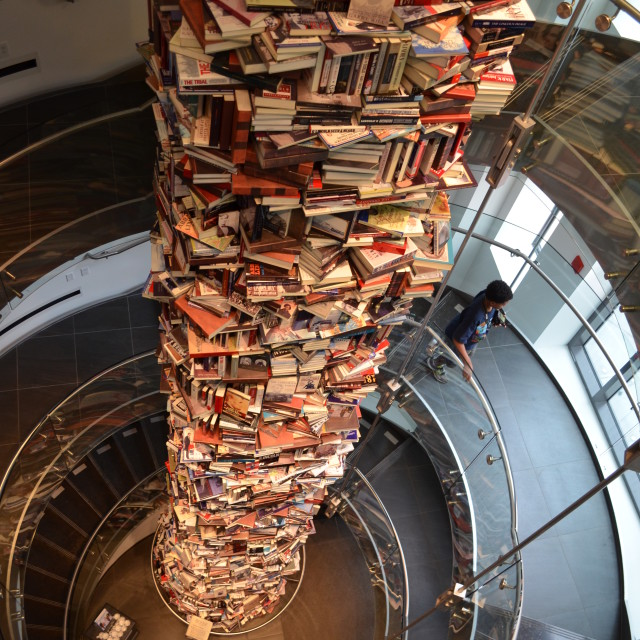 """Book Tower"" stock image"