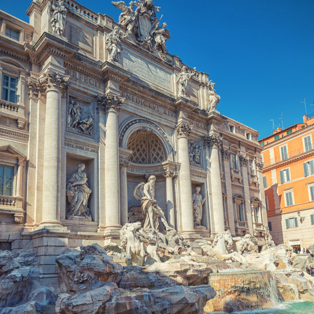 """Trevi Fountain"" stock image"