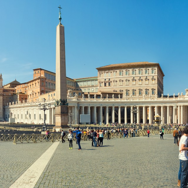 """Saint Peter's Square - Rome Italy"" stock image"