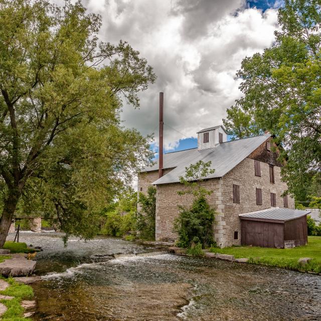 """Babcock Mill"" stock image"