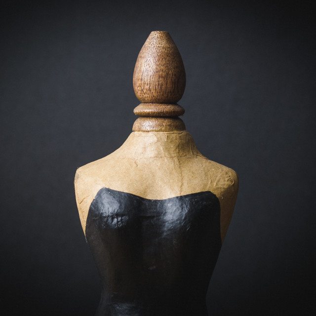 """""""Miniature mannequin"""" stock image"""