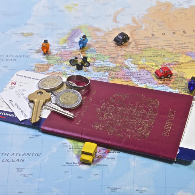"""""""British Passport, Travel"""" stock image"""