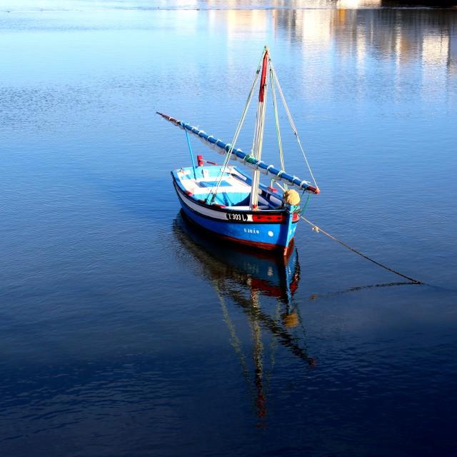 """boat..."" stock image"