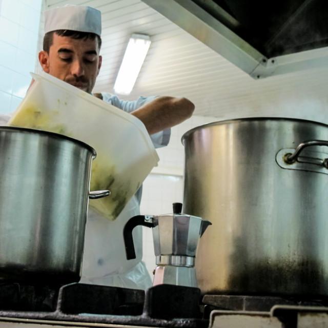 """Chef"" stock image"
