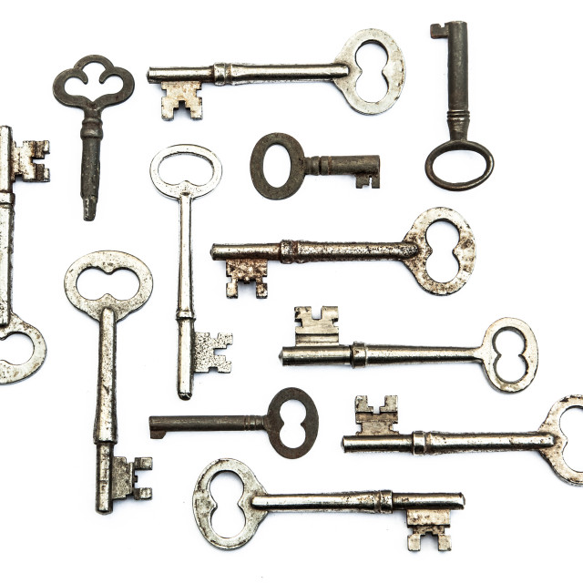 """Skeleton Keys"" stock image"