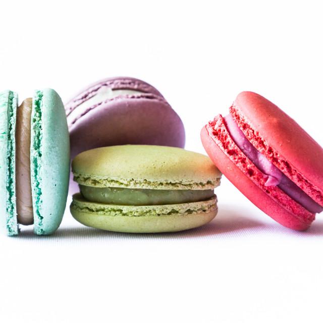 """Macaron Cookies"" stock image"