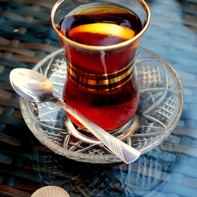 """Turkish Tea"" stock image"