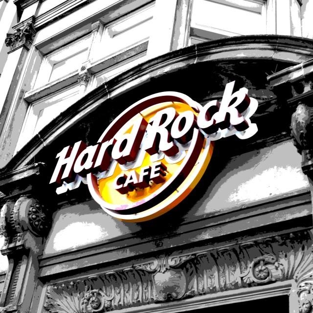 """Hard Rock"" stock image"