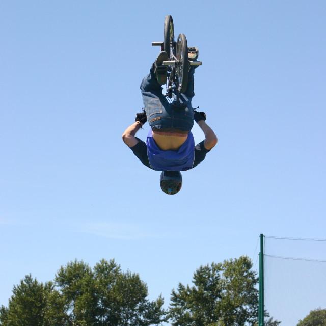 """""""BMX Air"""" stock image"""