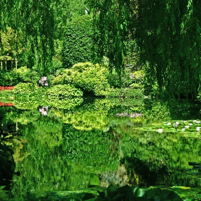 """""""Butchart Gardens"""" stock image"""