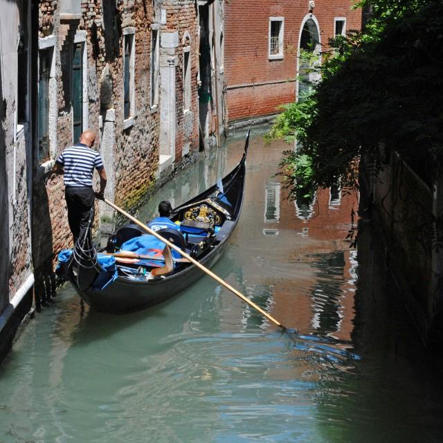 """Venetian Gondola"" stock image"