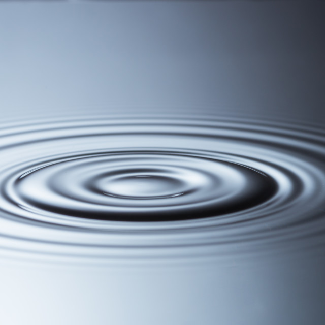 """Rippled"" stock image"