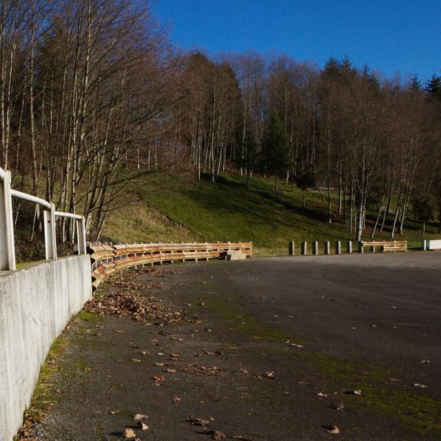 """Abandoned Speedway"" stock image"