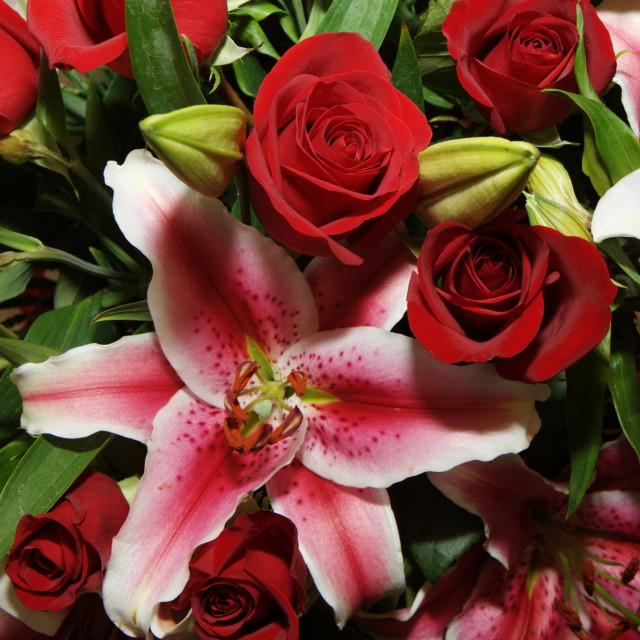 """""""Floral Arrangement"""" stock image"""