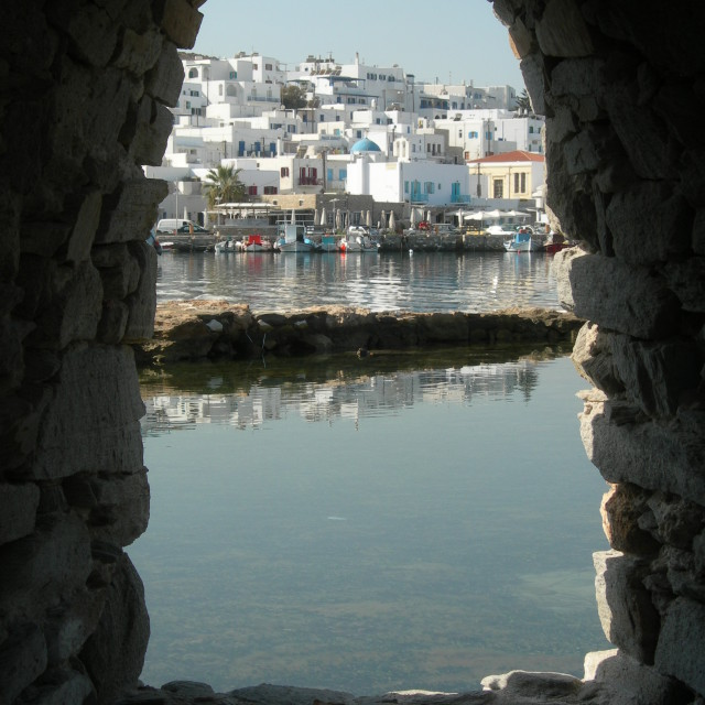 """Naxos view"" stock image"