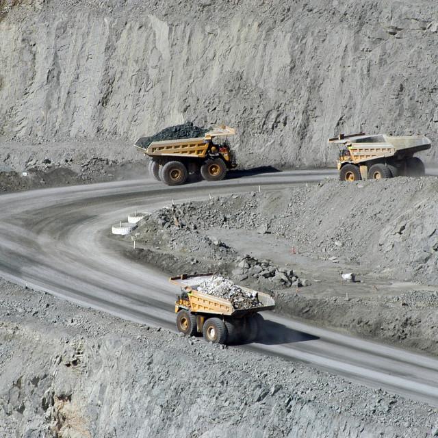 """Goldmine of Kalgoorlie"" stock image"