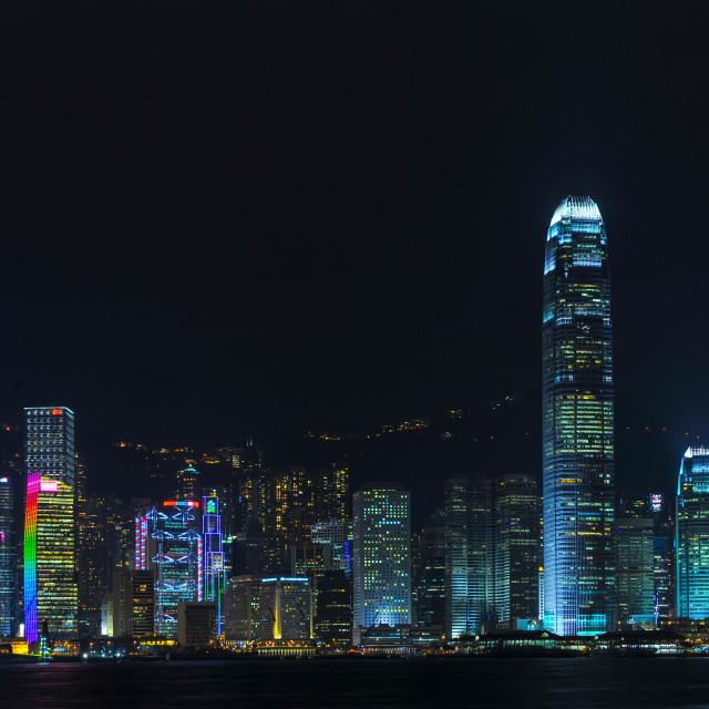 """Hongkong Skyline"" stock image"