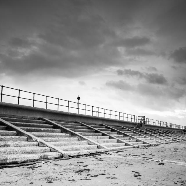 """Coastal Beach Landscape"" stock image"