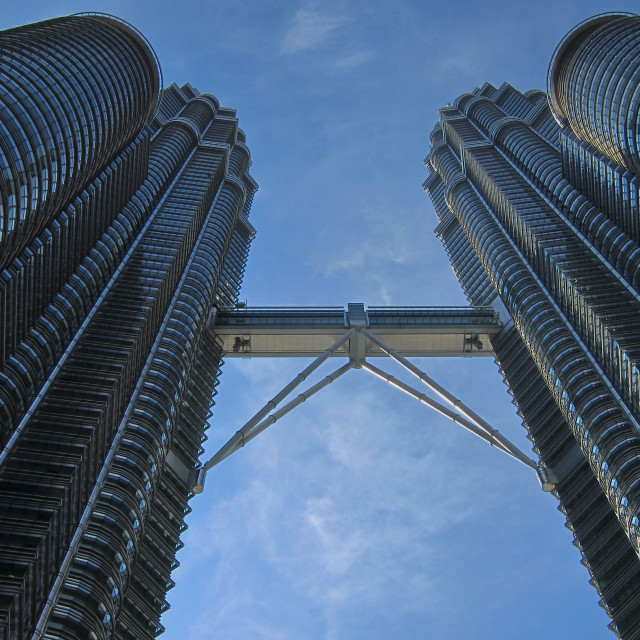 """Petronas Towers in Kuala Lumpur"" stock image"