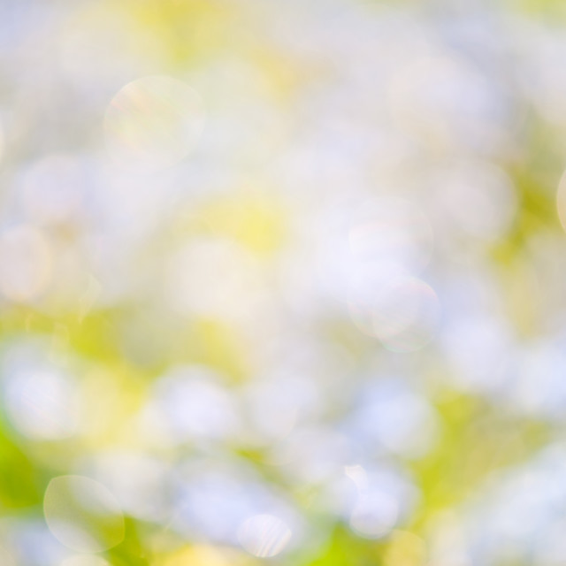 """""""Blue green sparkles and circles bokeh abstract"""" stock image"""
