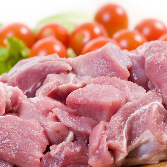 """""""meat for stew"""" stock image"""
