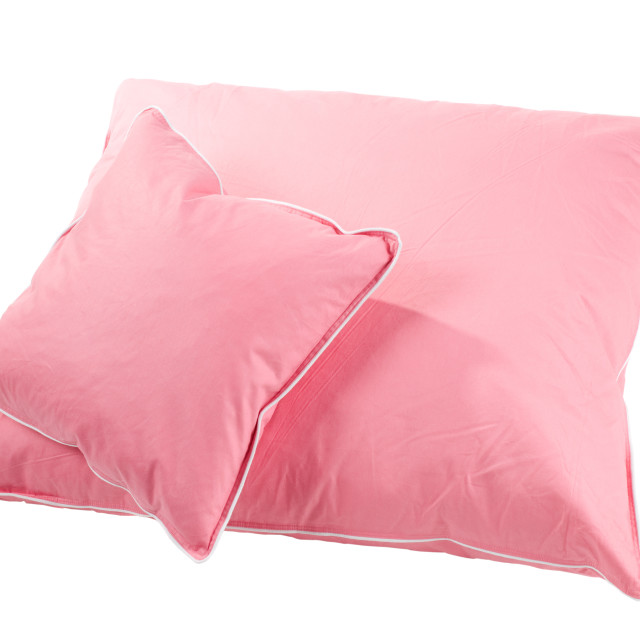 """two pink pillows"" stock image"
