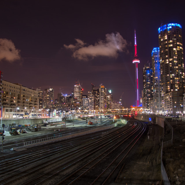 """TorontoLights"" stock image"