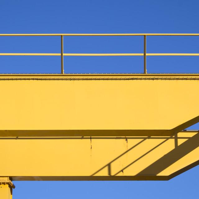 """Detail of Crane"" stock image"