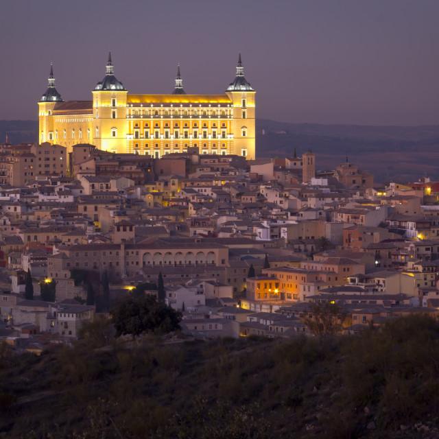 """Alcázar of Toledo"" stock image"