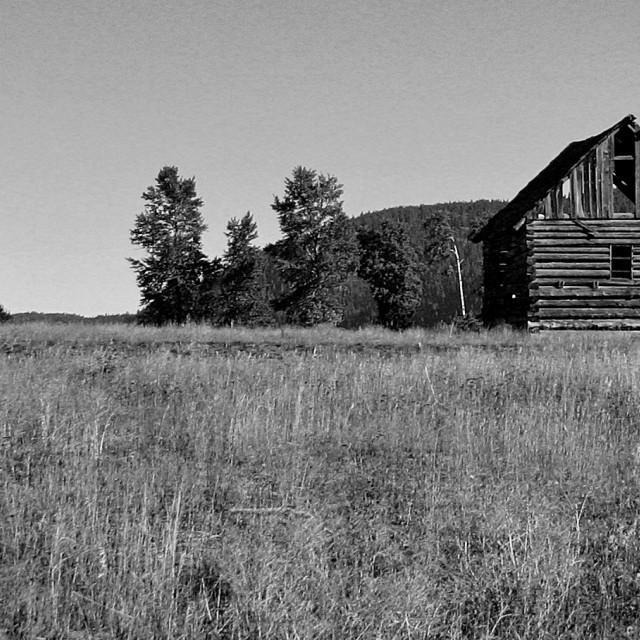 """Tulameen Barn"" stock image"