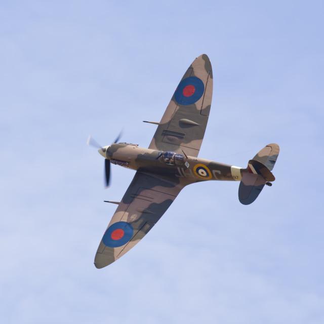 """""""Spitfire Mk5"""" stock image"""