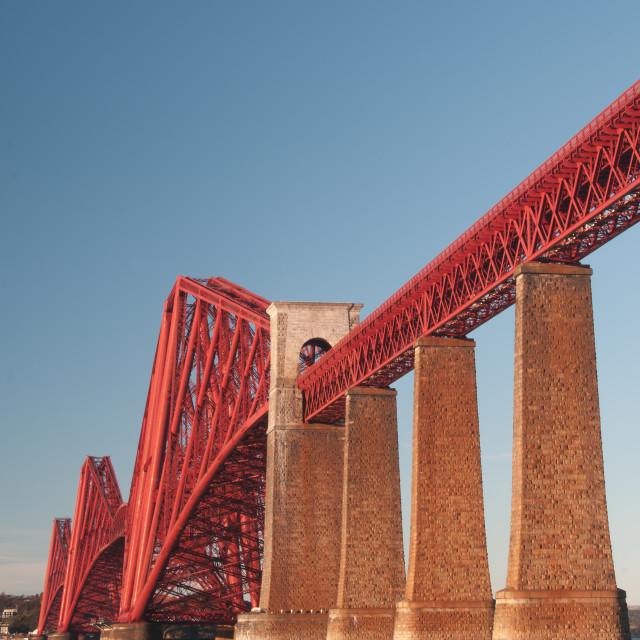 """The Forth Rail Bridge"" stock image"
