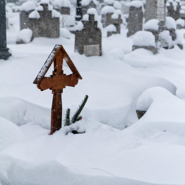 """""""Cemetery"""" stock image"""