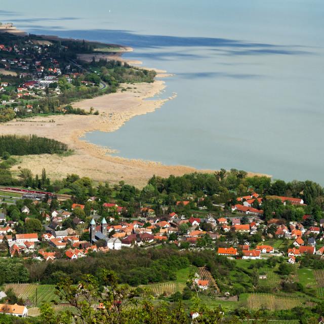 """""""Lake Balaton"""" stock image"""