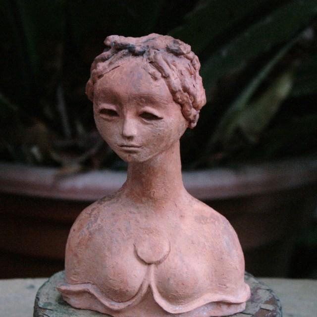 """Terracotta Lady"" stock image"