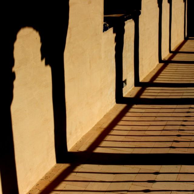 """""""The Alcázar of Seville"""" stock image"""
