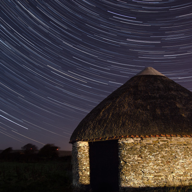"""Starry Hut"" stock image"