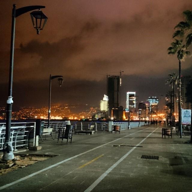 """Beirut shorefront"" stock image"