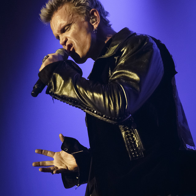 """""""Billy Idol @ Manchester Apollo 2014"""" stock image"""