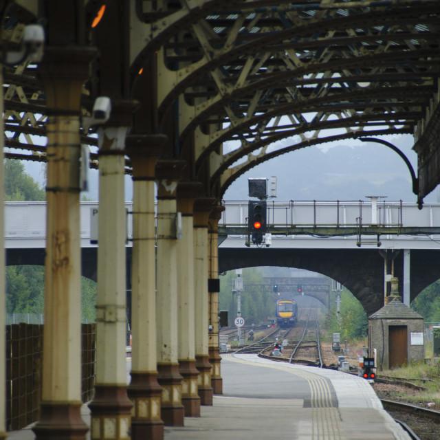 """Perth Train Station"" stock image"
